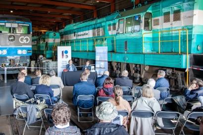 """Raamatu """"Eesti raudteede 100 aastat"""" esitlus"""